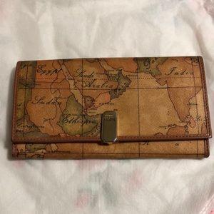 Authentic Alviero Martini Fold wallet